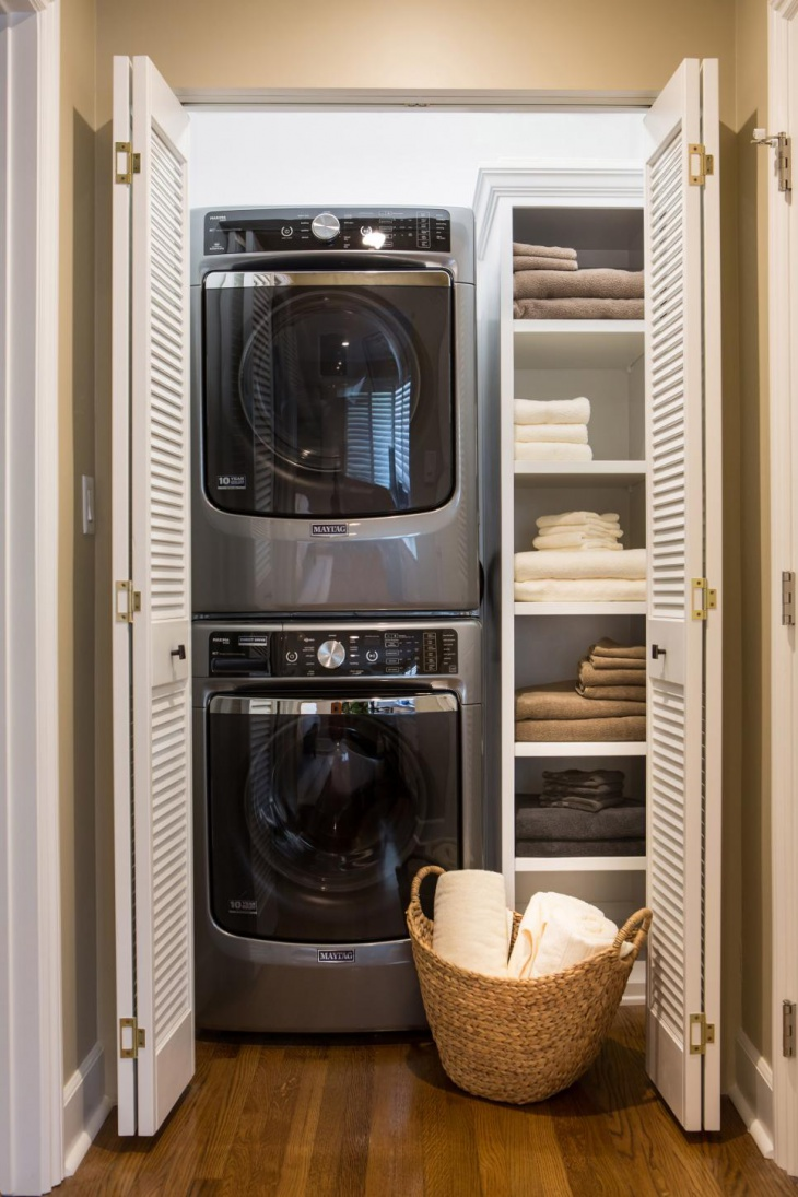 18 small laundry room designs ideas design trends for How to add a laundry room to your house