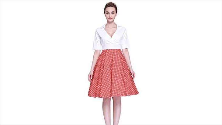 vintage swing dress design