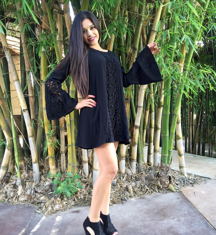 long sleeve spring dress