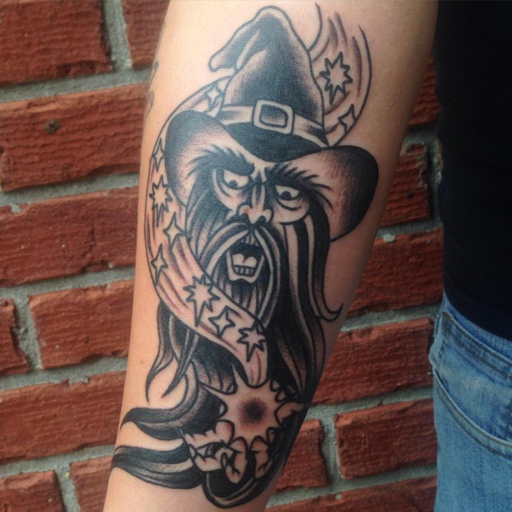 19+ Wizard Tattoo Designs, Ideas | Design Trends - Premium PSD ...