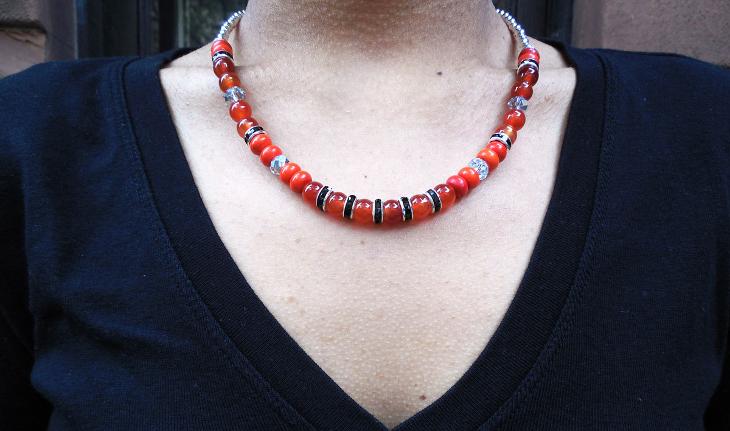 Crystal Beaded Jewelry Design