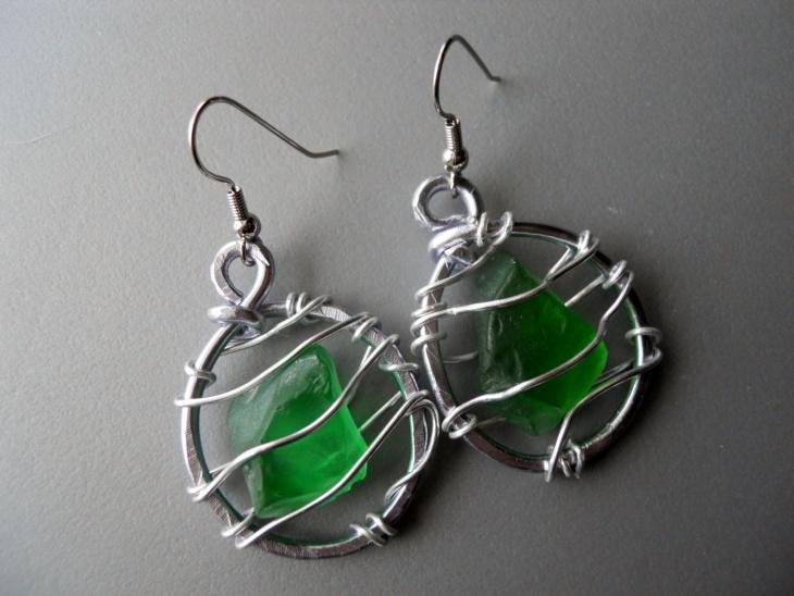 diy sea glass jewelry design
