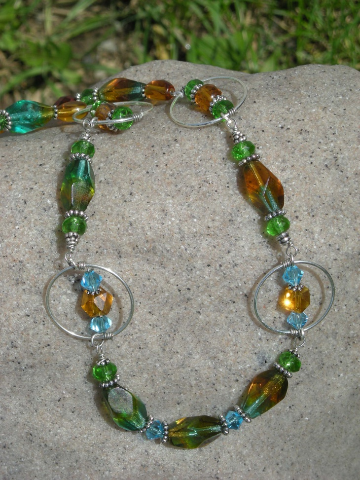 tropical topaz jewelry design