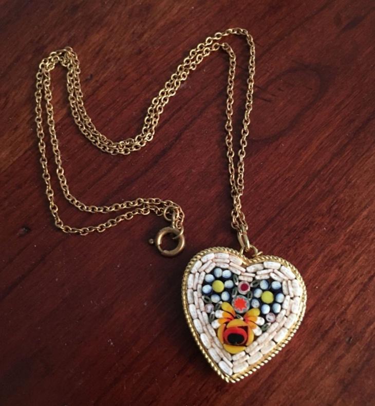 micro mosaic jewelry design