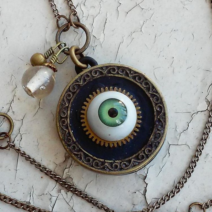 victorian steampunk jewelry design