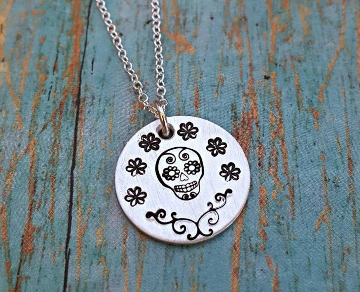 sugar skull jewelry design