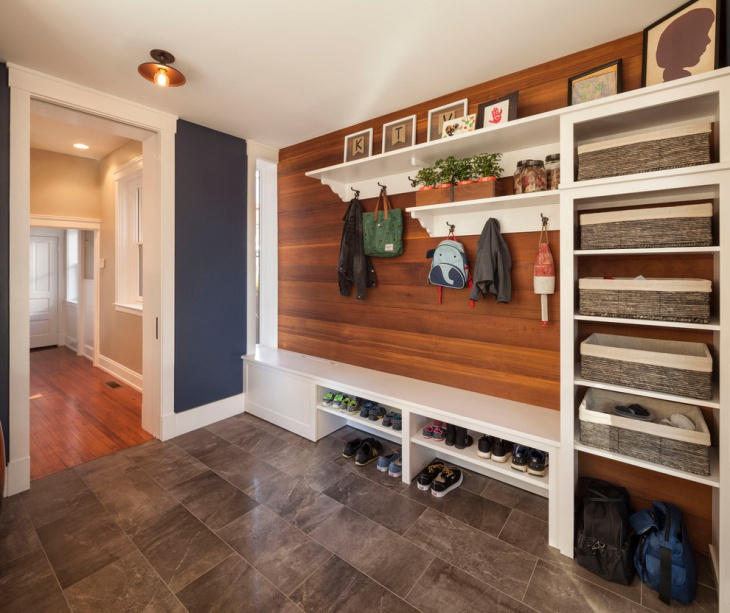 Contemporary Mudroom Design