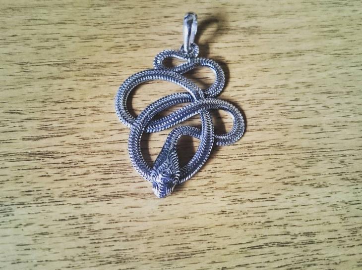 Celtic Snake Pendant