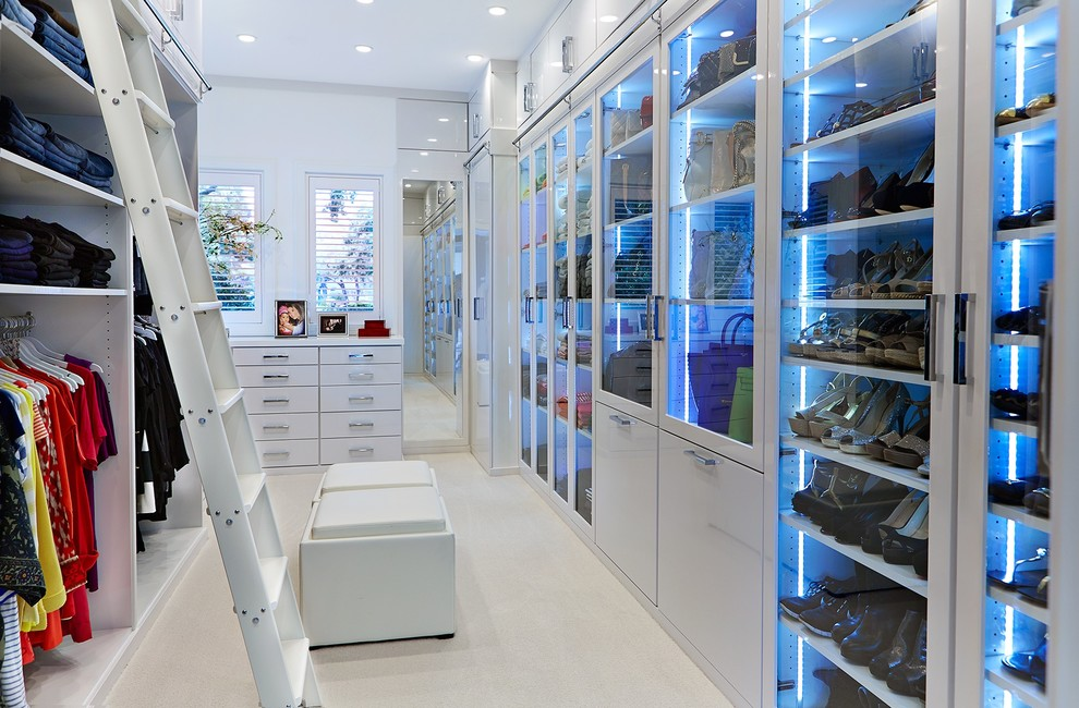 modern closet lighting