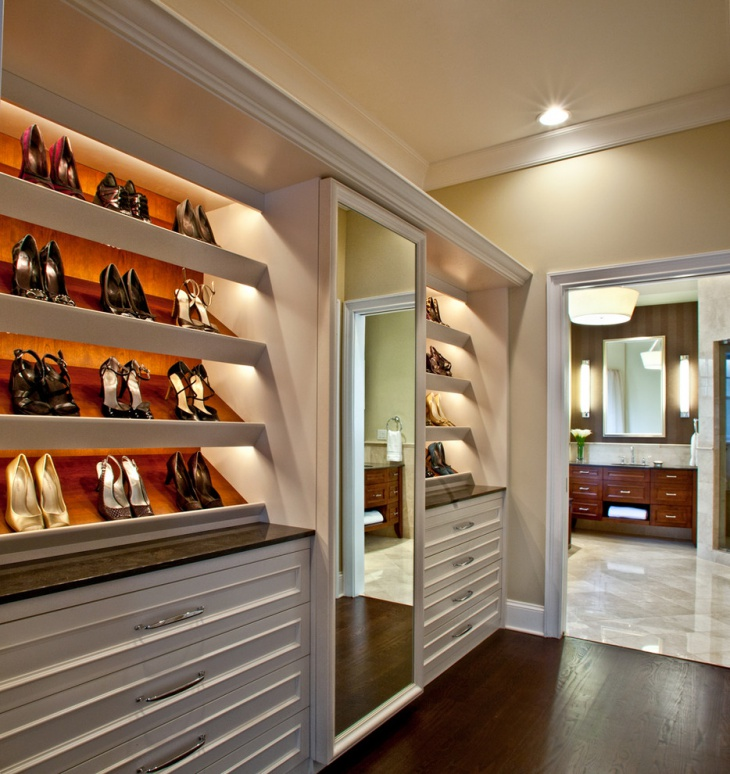 Modern Track Lighting Closet: 17+ Closet Lighting Designs, Ideas