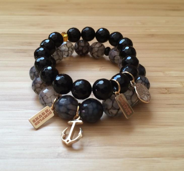 black bamboo jewelry