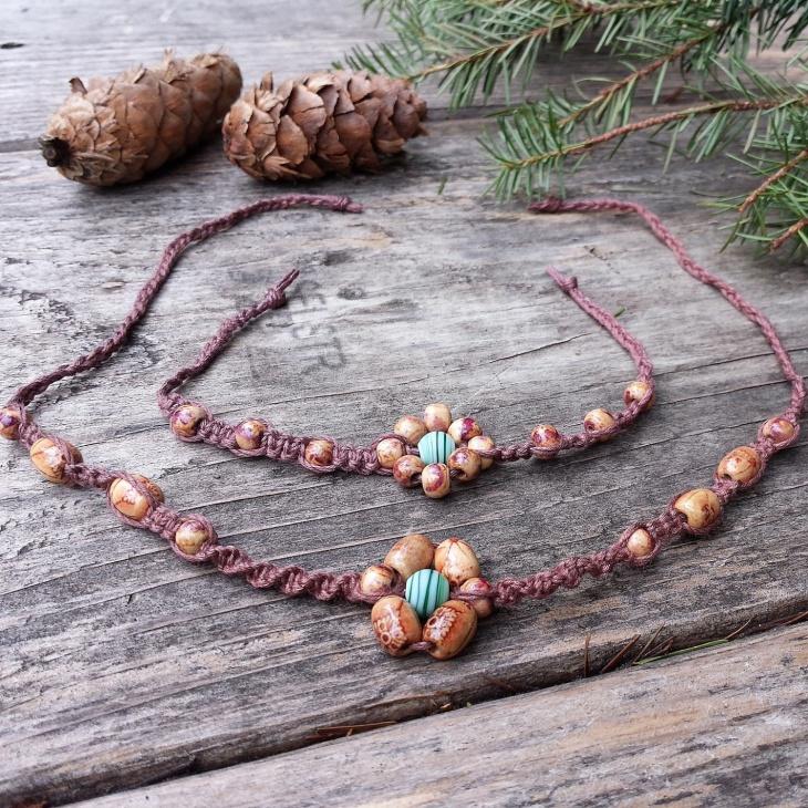 flower bamboo jewelry