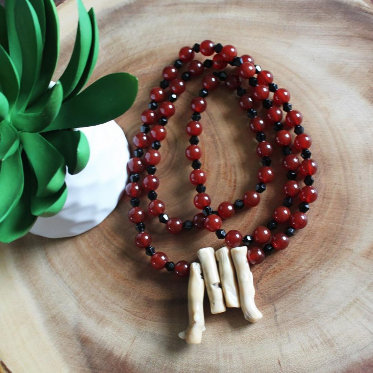 beaded bamboo jewelry