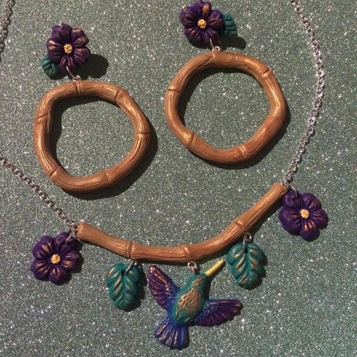 wood bamboo jewelry