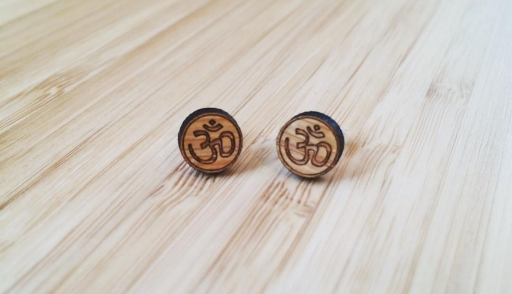 bamboo studs jewelry1