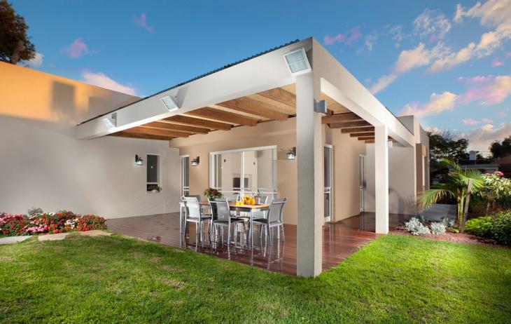 exterior covered deck design