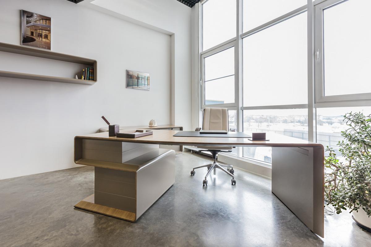 luxury corner office desk
