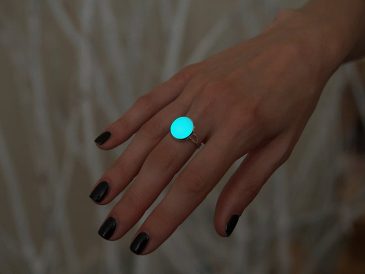 glowing dark ring jewelry1