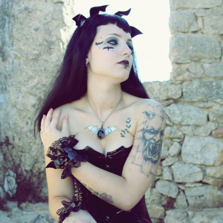Bat Fantasy Makeup