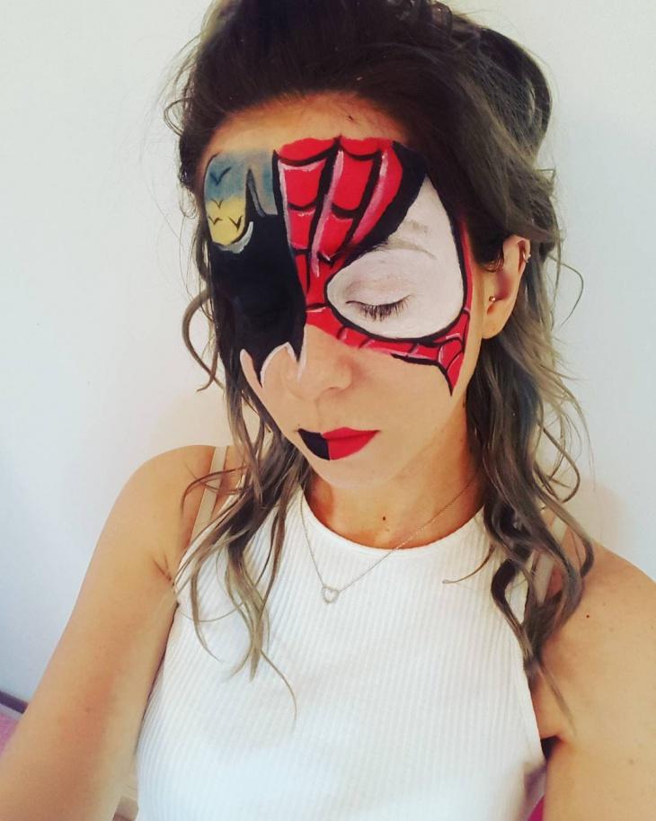 Comic Bat Makover Look