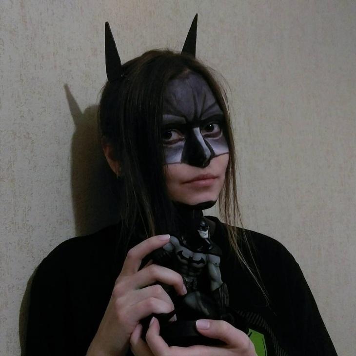 Batman Theme Costume look
