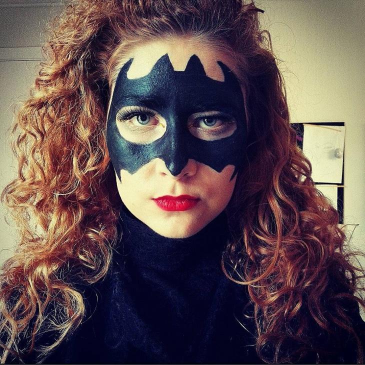Bat Face Mask Idea