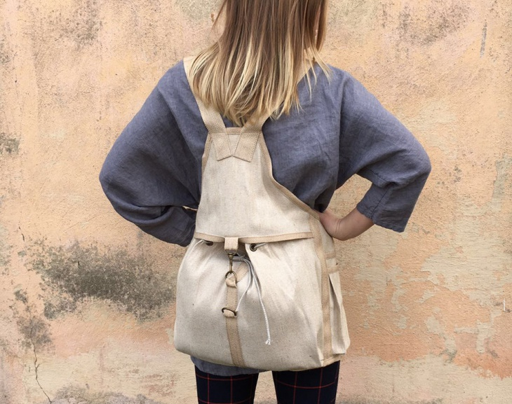 Rugged Canvas Backpack
