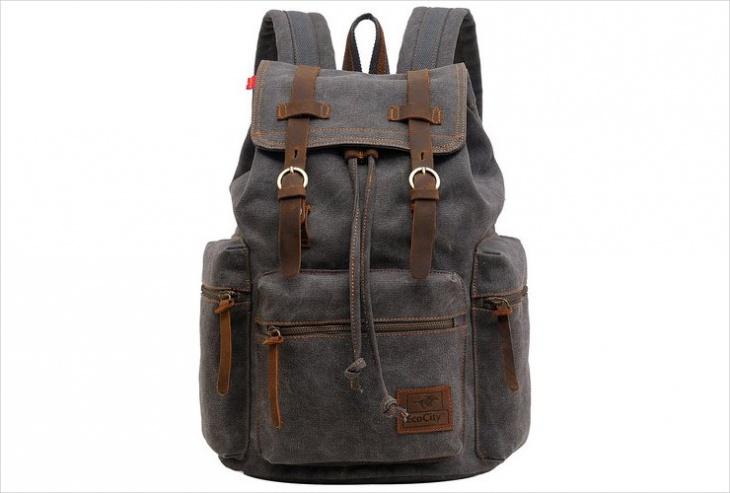 vintage rugged backpack