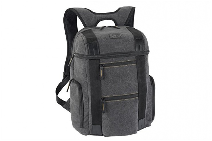rugged twill backpack design
