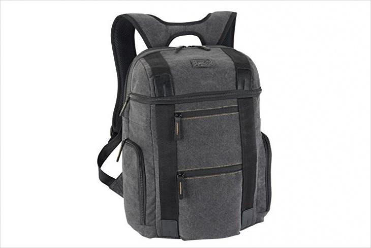 Rugged Twill Backpack Design