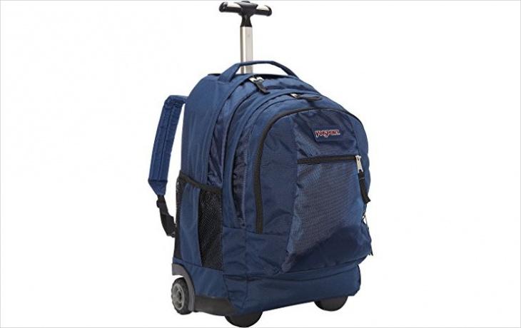 rugged wheeled backpack