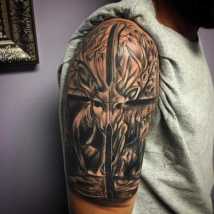 Hunting Tattoo for Sleeve