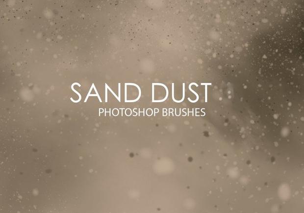 sand dust brushes