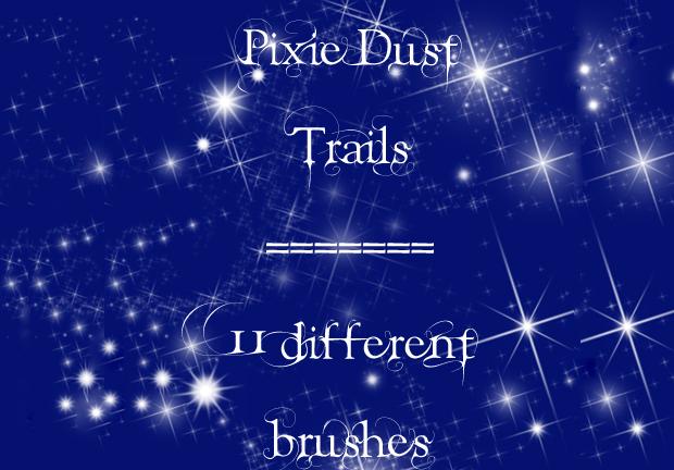 pixie dust photoshop brush