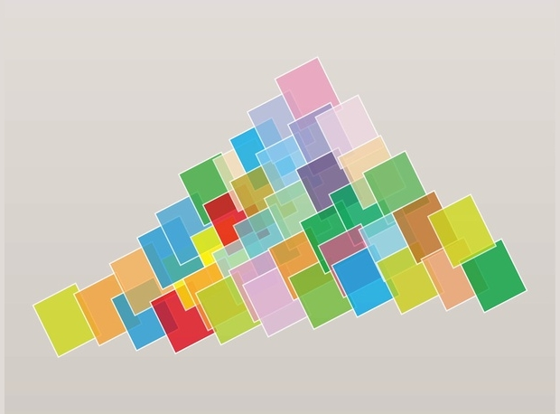 square geometric vector