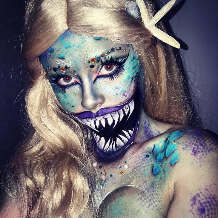 angler fish makeup