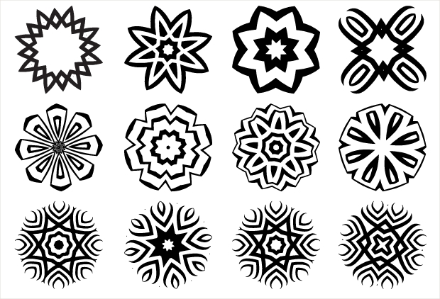 Decorative Geometric Vector