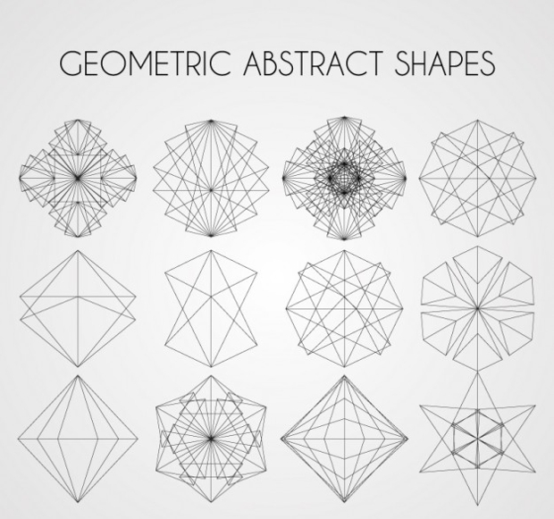 Free Geometric Abstract Shapes Vector