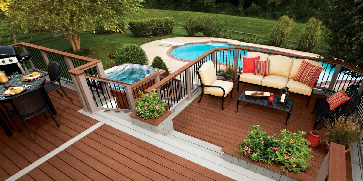 elaborate deck design