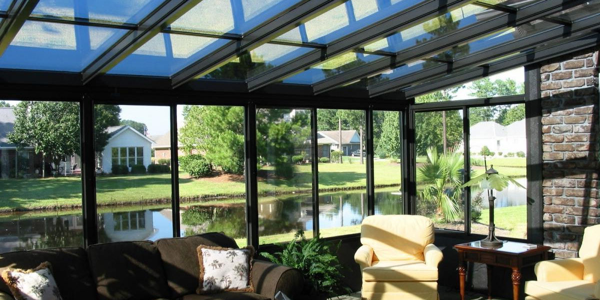 Glass Covered Deck