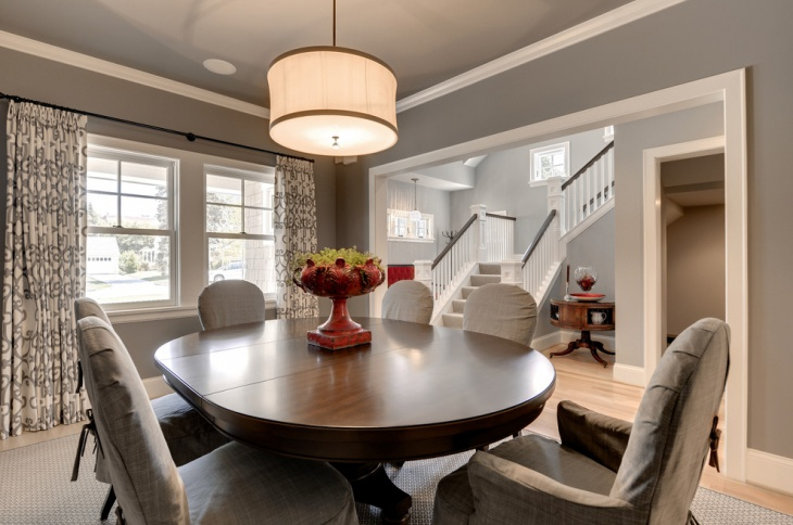 Houzz Wallpaper Dining Room: 17+ Geometric Dining Room Designs, Ideas