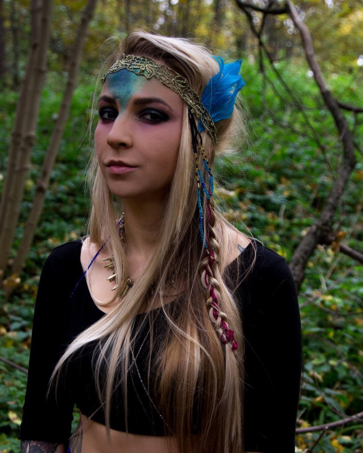 tribal princess makeup design