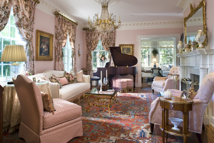 18 Feminine Living Room Designs Ideas Design Trends