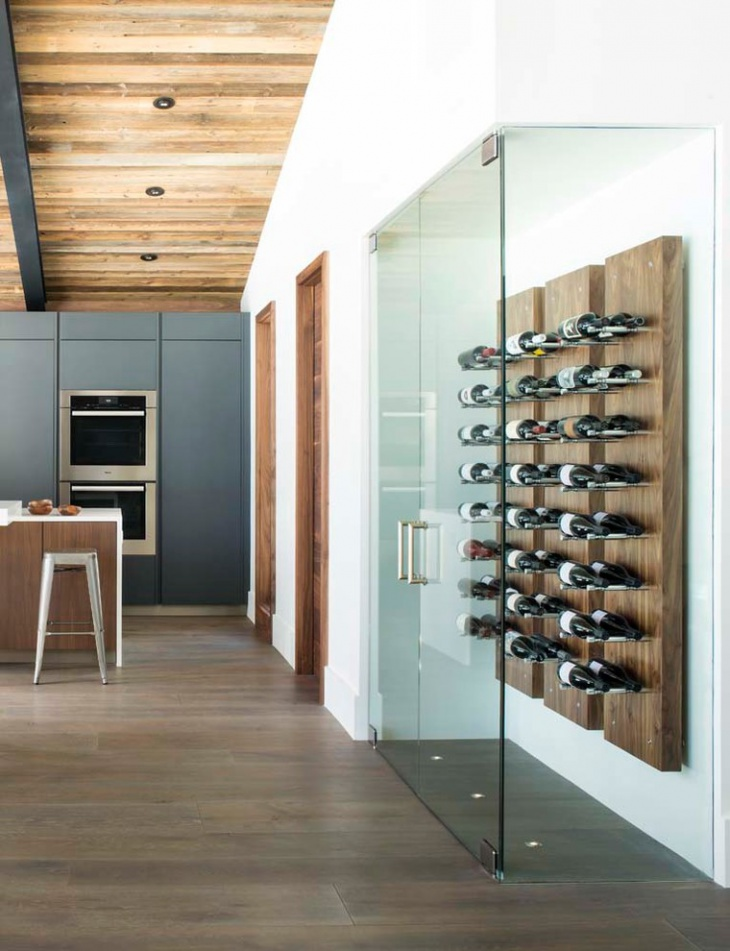 wine rack storage design