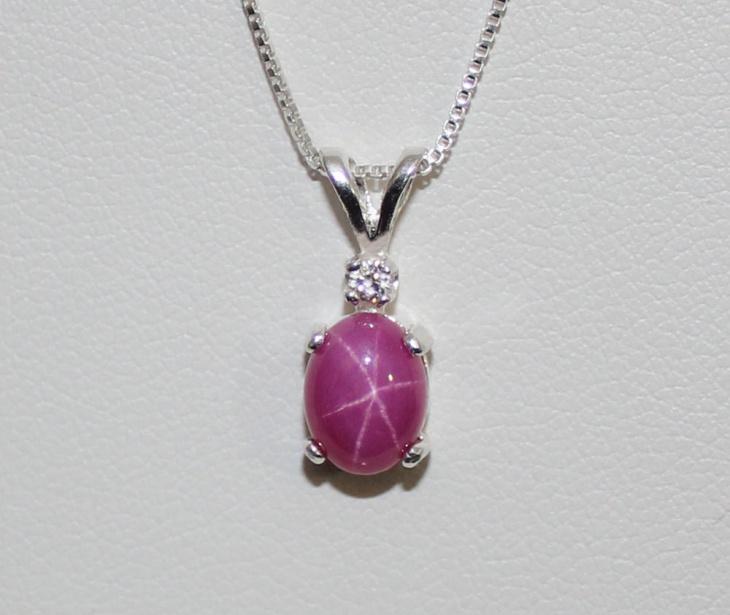 star ruby pendant design