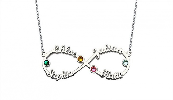 family name pendant necklace