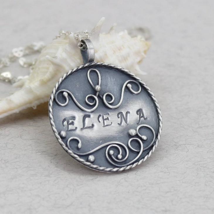 cool name pendant design