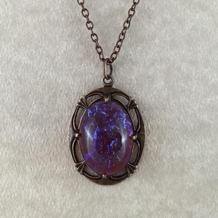 opal glass pendant design