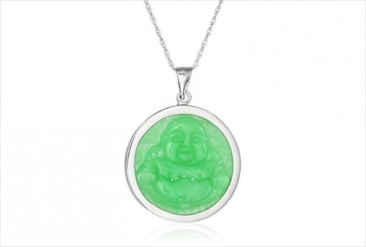 jade buddha pendant design