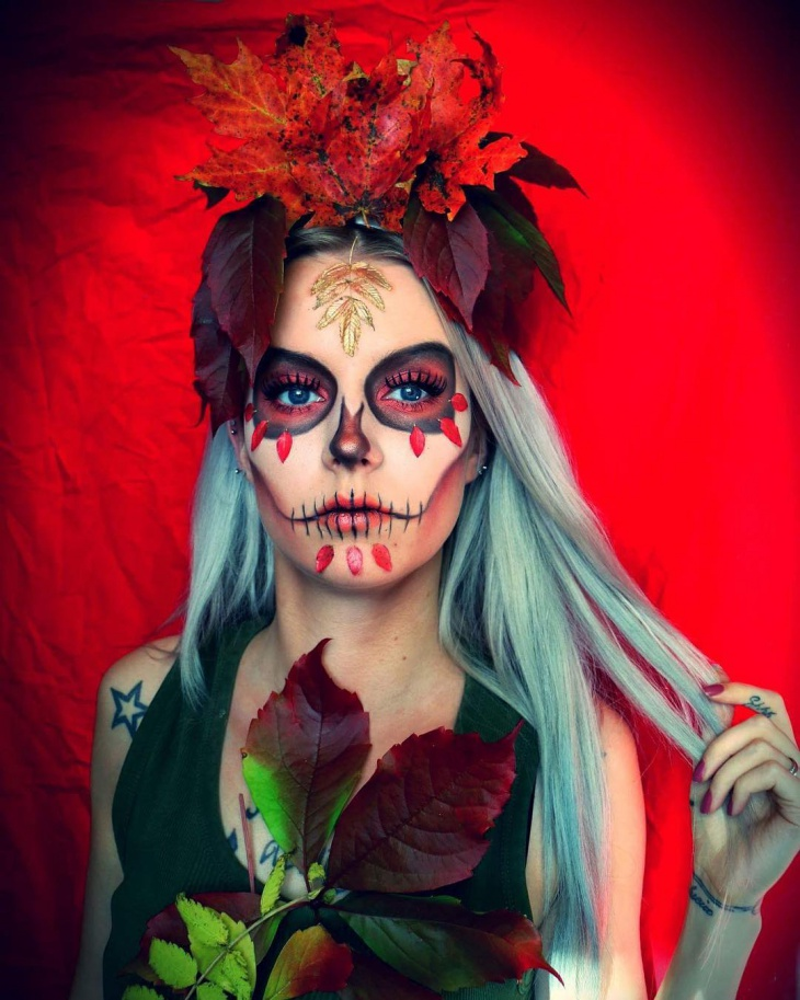 sugar skull makeup design1